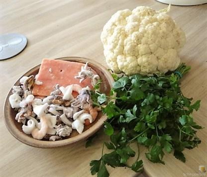 Blumenkohl Curry mit Meeresfrüchten (8)