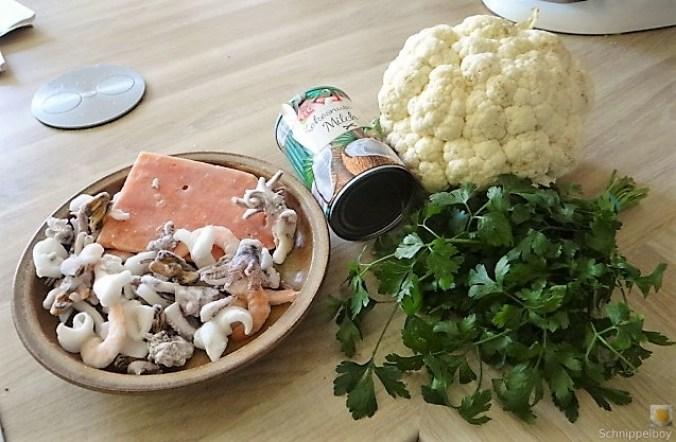 Blumenkohl Curry mit Meeresfrüchten (9)