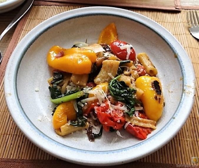 Gemüse-Nudel Pfanne (15)