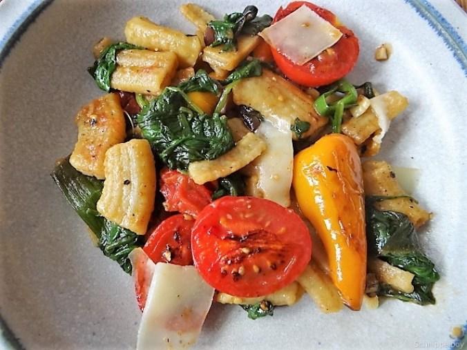 Gemüse-Nudel Pfanne (4)