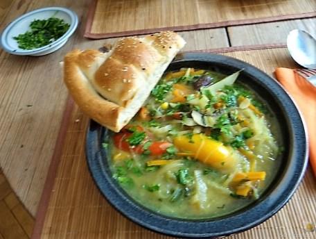 Gemüsesuppe mit Glasnudeln (26)