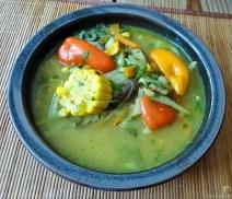 Gemüsesuppe mit Glasnudeln (27)