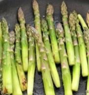 Grüne Klöße, Grüner Spargel, Zitronensauce (10)