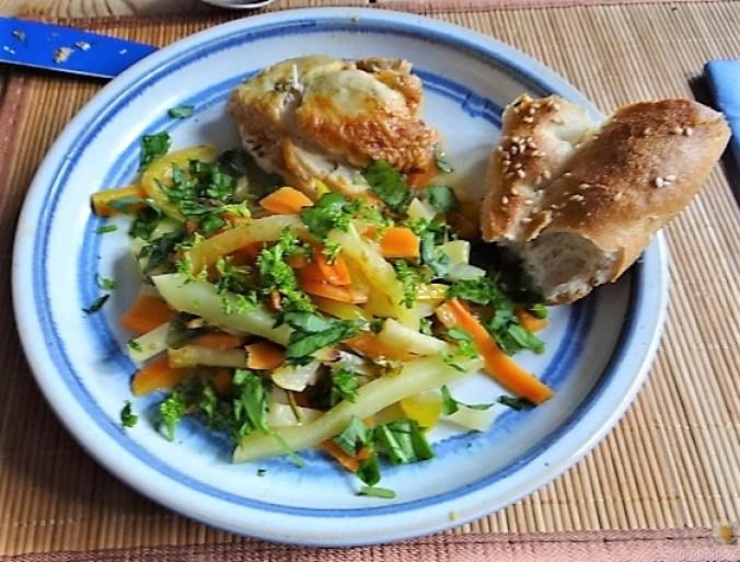 Hähnchenbrust im Gemüsebett (21)
