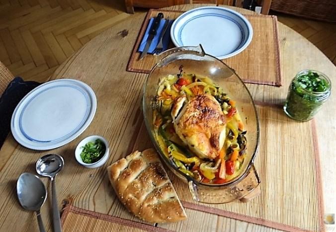 Hähnchenbrust im Gemüsebett (6)