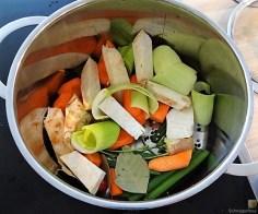 Hähnchenbrust im Gemüsebett (8)