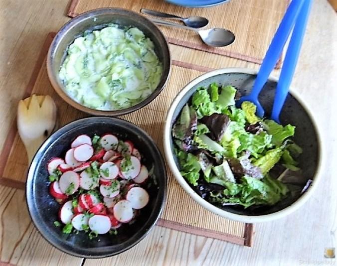 Lachs und Salate (14)