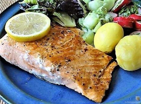 Lachs und Salate (24)