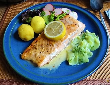 Lachs und Salate (25)