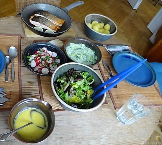 Lachs und Salate (5)
