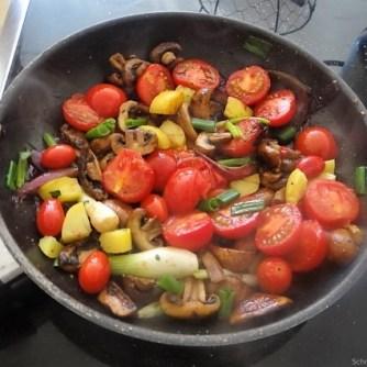 Pilze und Tomaten (14)