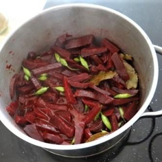 Quinoa Risotto, Rote Beete Gemüse (12)