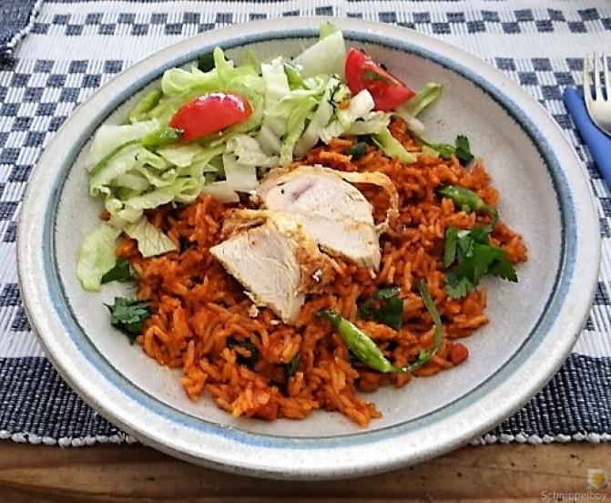 Tomatenreis und Salat (5)