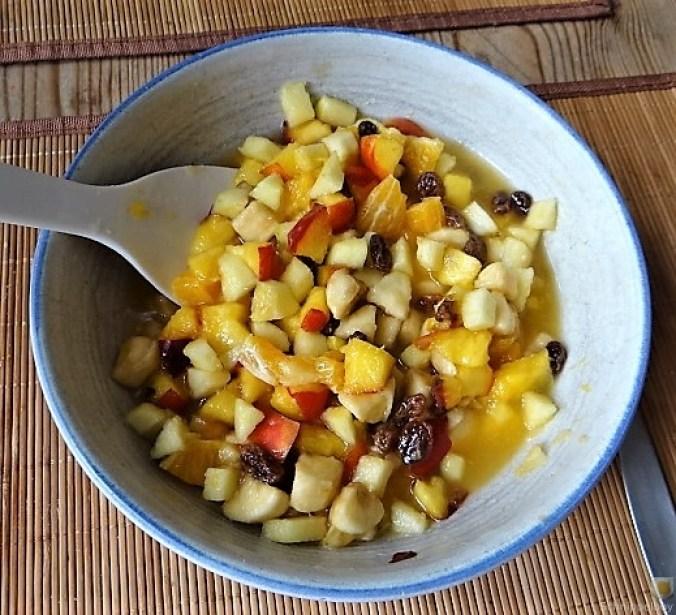 Zucchini und Kartoffelröllchen mit Fetacreme (5)