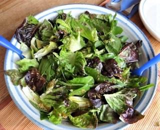 Amaranth, Wildkräutersalat und Tomaten (15)