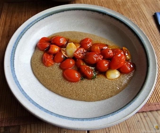 Amaranth, Wildkräutersalat und Tomaten (17)