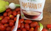 Amaranth, Wildkräutersalat und Tomaten (9)