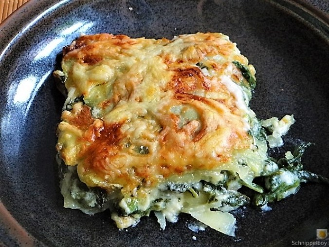 Kartoffel-Spinat Lasagne (2)