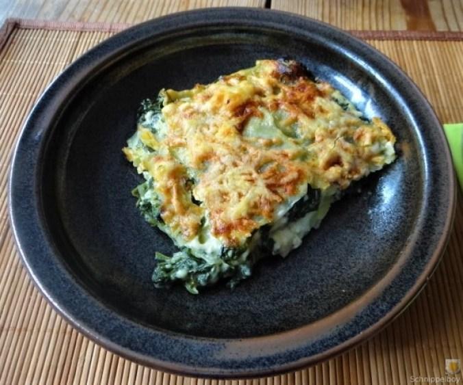 Kartoffel-Spinat Lasagne (3)