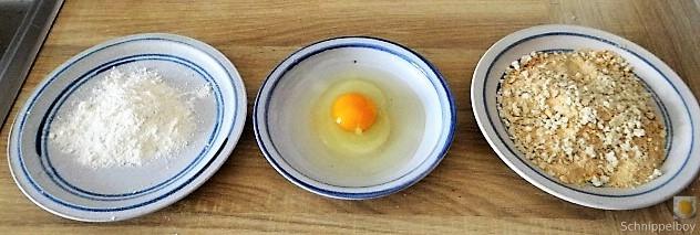 Kartoffelstampf mit Feta, Paprikasauce, Gurkensalat und ein Blattsalat (11)