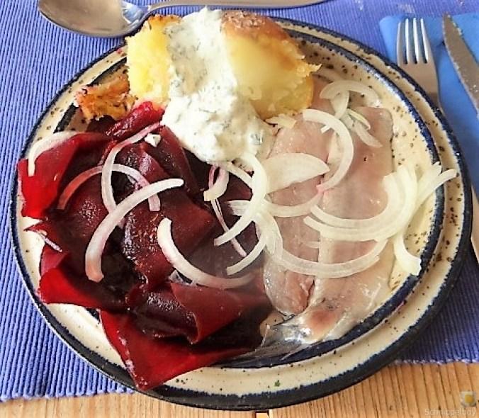 Matjes,Rote Beete,Dip, Kartoffel (1)