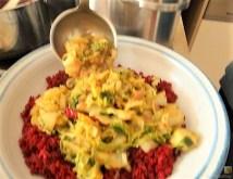 Roter Reis mit Chinakohl und Garnelen (17)