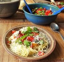 Spaghetti-Keka und Kirsch-Crumble (13)