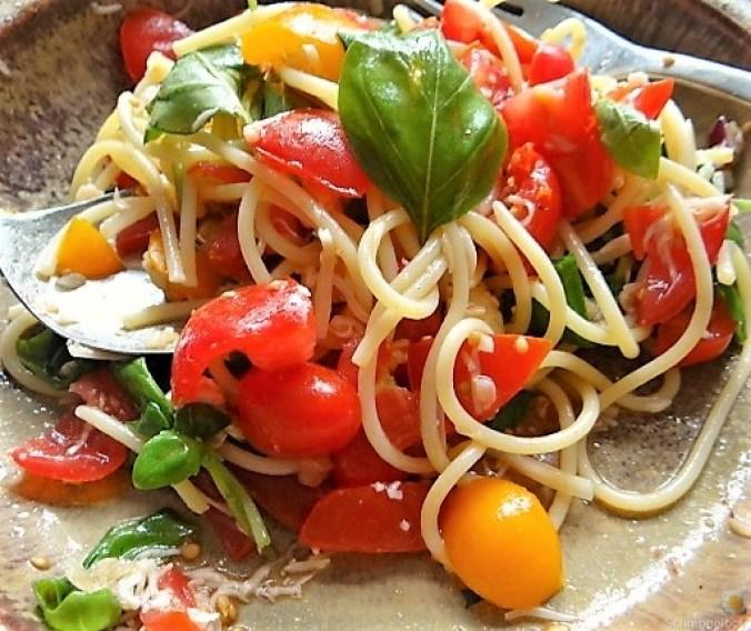 Spaghetti-Keka und Kirsch-Crumble (18)