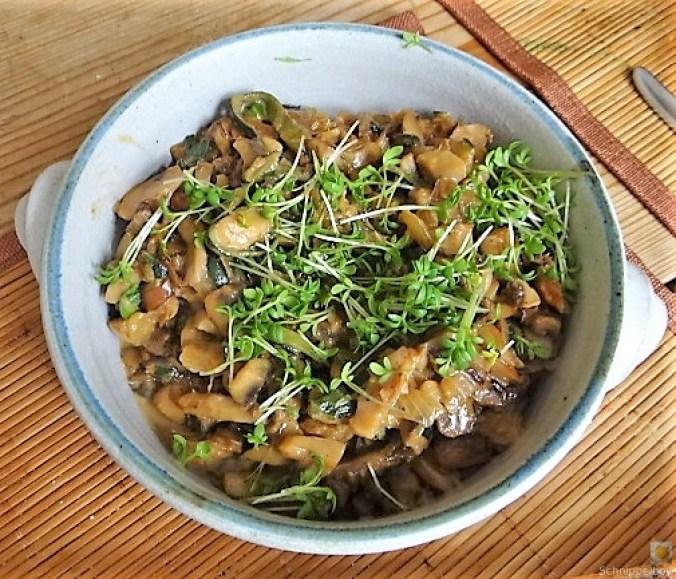 Zucchini Röllchen mit Champignon (17)