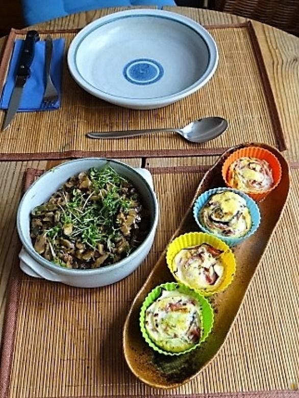 Zucchini Röllchen mit Champignon (19)