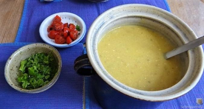 Fenchelsuppe mit Garnelen (1)