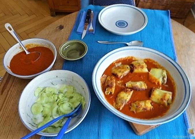 Kartoffelröllchen in Tomatensauce (6)