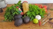 Kichererbsensalat mit Guacamole (12)