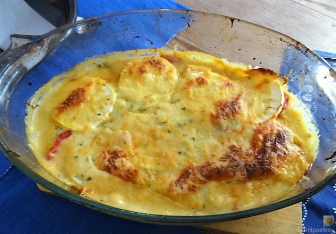 Lasagne von Mairübchen und Tomaten (1)