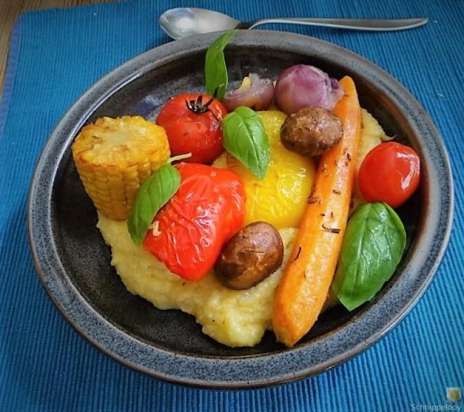 Polenta mit Ofengemüse (23)