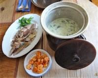 Butermilchsuppe mit geräuchertem Fisch (33)
