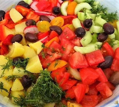 Mediterraner Kartoffelsalat (11)