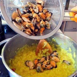 Muschel Risotto mit Zitrone (10)