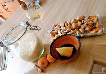 Muschel Risotto mit Zitrone (6)
