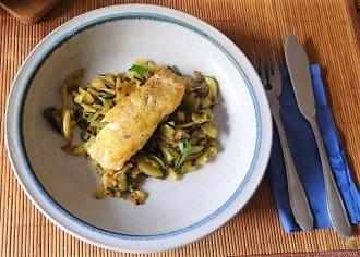 Rotbarsch auf Kartoffel und Zucchini (21)