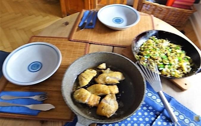 Rotbarsch auf Kartoffel und Zucchini (7)