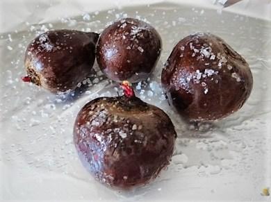 Bratkartoffeln, Salate und Baba Ganoush (18)
