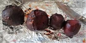 Bratkartoffeln, Salate und Baba Ganoush (19)