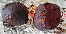 Bratkartoffeln, Salate und Baba Ganoush (20)