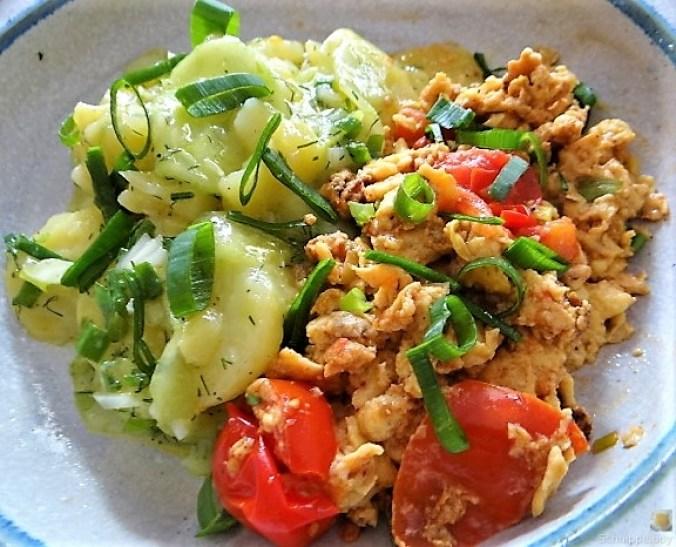 Kartoffelsalat mit Rührei (27)