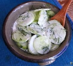 Salate und Forellenfilet (13)