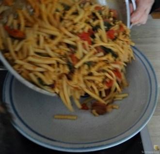 Chorizo, Spinat-Tomaten, Pasta (30)