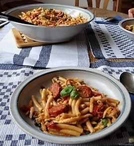 Chorizo, Spinat-Tomaten, Pasta (35)