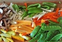 Gemüsepfanne und Ofenkartoffeln (11)