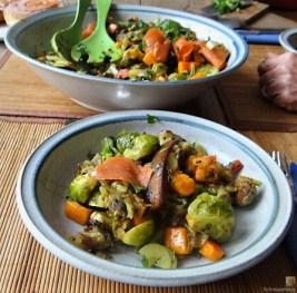 Kartoffel Zoodles mit Gemüse und Lachsforelle (26)